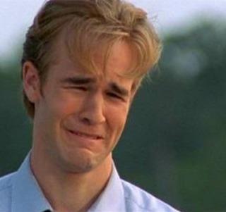 "James Van Der Beek ""Cry Face"" Meme"