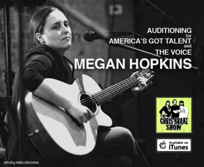 Megan Hopkins | Auditioning for America's Got Talent and The Voice