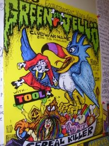 1991 Green Jellö/Tool Poster
