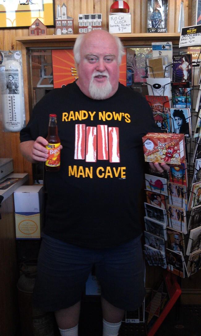 Randy Now's Bacon Shirt