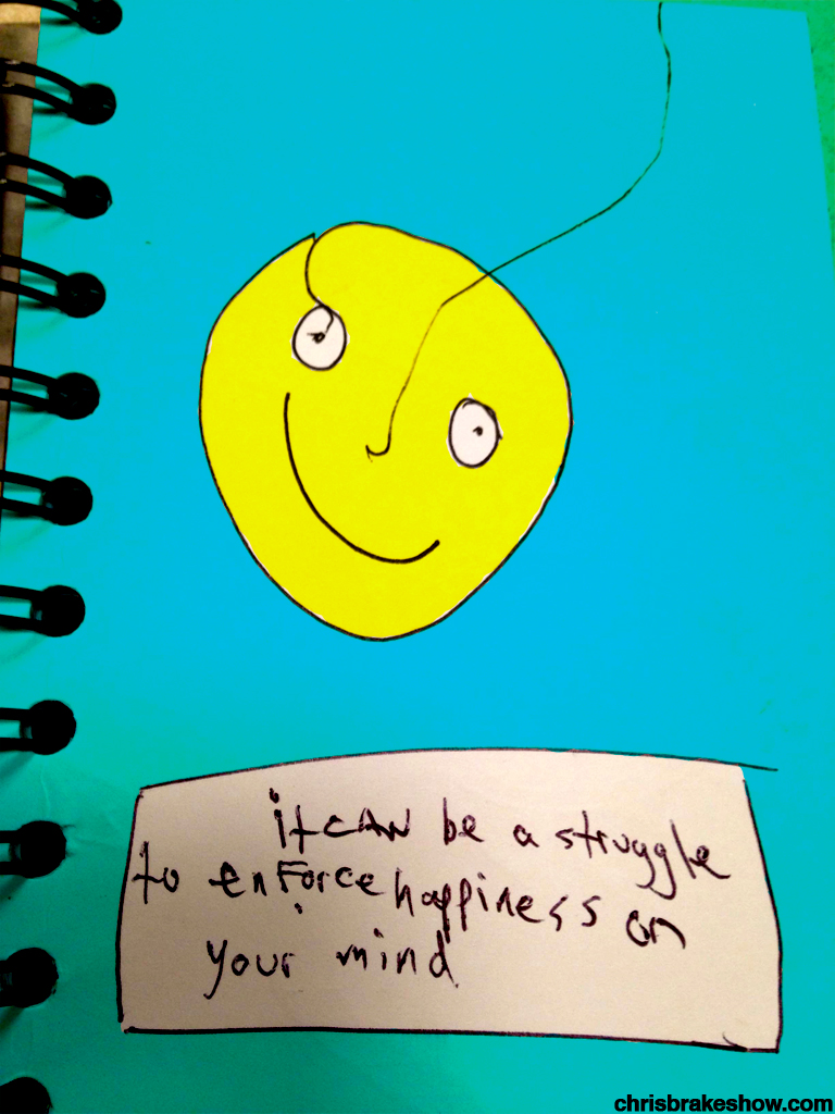 Enforcing Happiness | Chris Brake's Daily Doodle