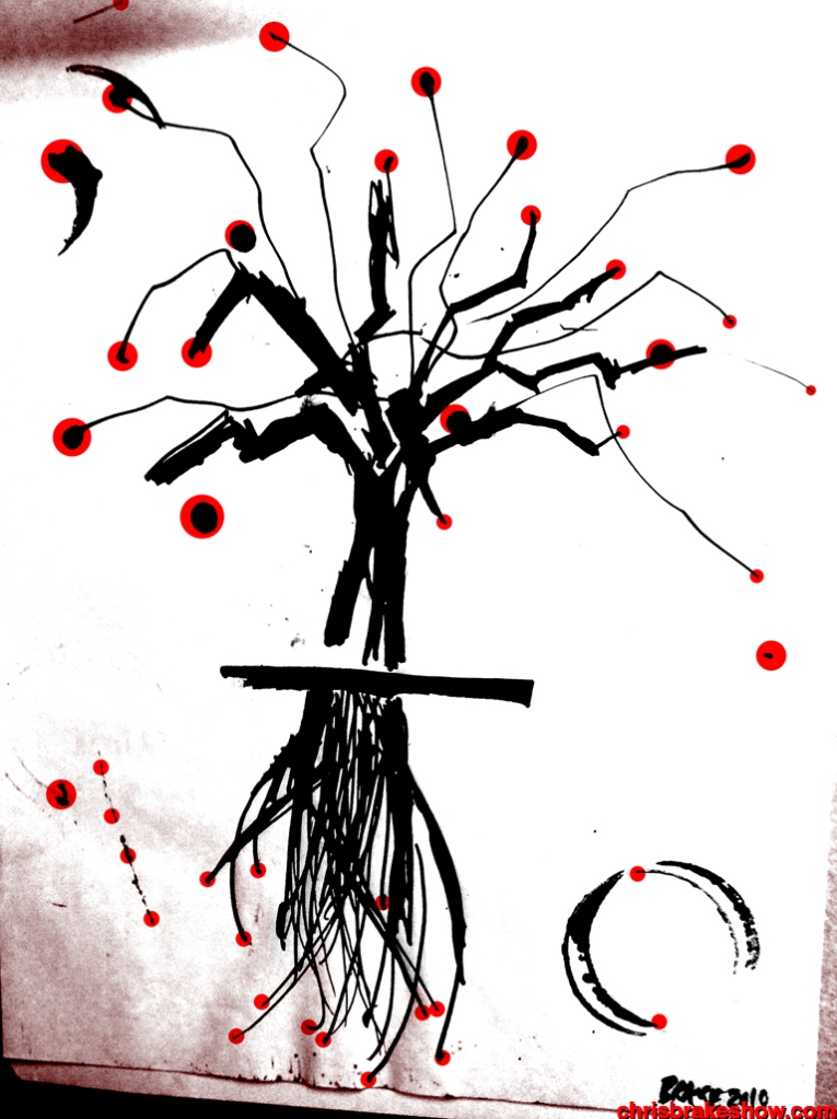 Cherry Dawn | Chris Brake Daily Doodle