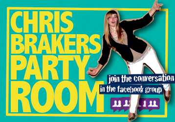Join the party! | Chris Brakers Party Room