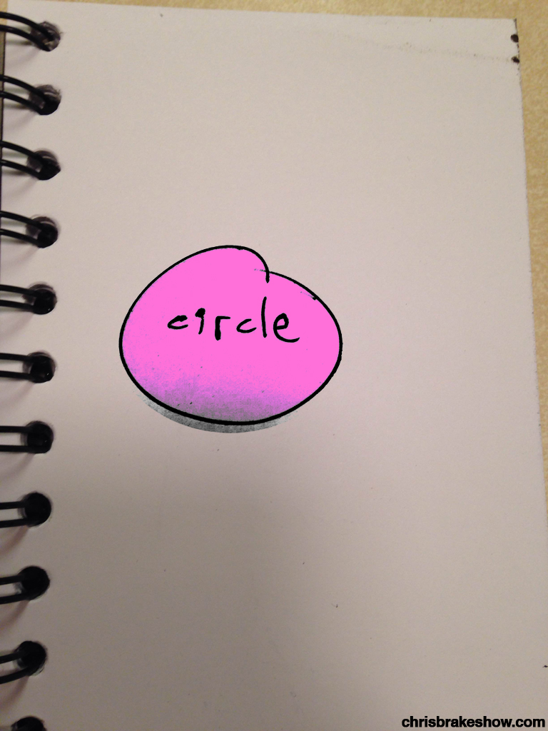 Circle | Chris Brake Daily Doodle