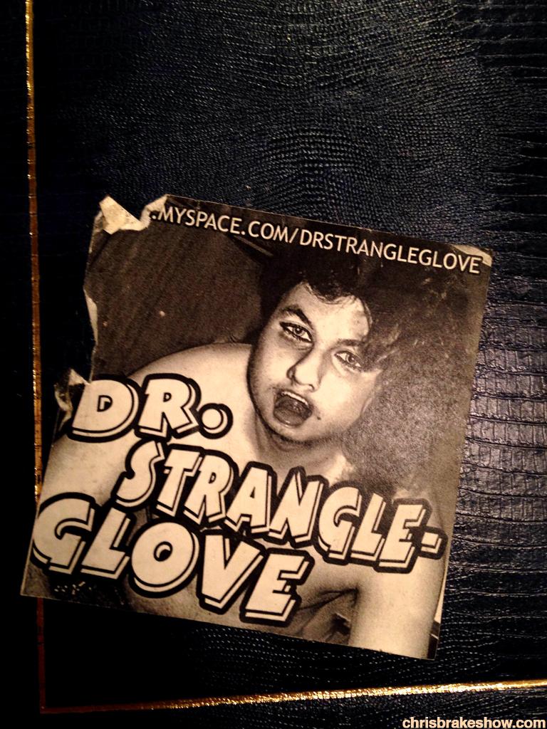 Dr Strangle Glove | Chris Brake Daily Doodle