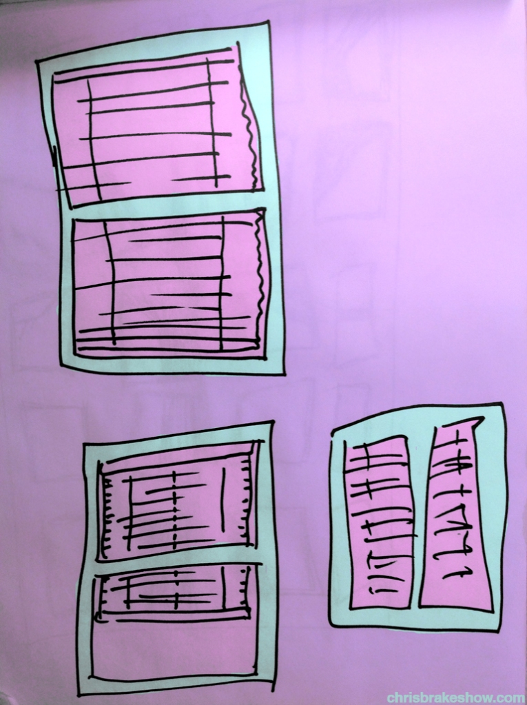 Three Windows | Chris Brake Daily Doodle