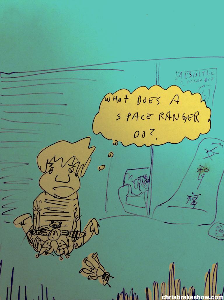 An Honest Question | Chris Brake Show Daily Doodle