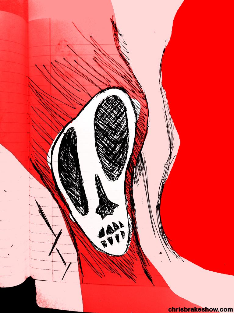 Bone Scope | Chris Brake Daily Doodle