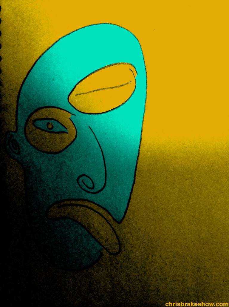 Face Fifteen | Chris Brake Daily Doodle