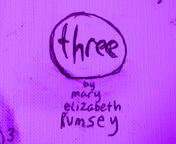 3 for a Daily Doodle | Three by M.E.