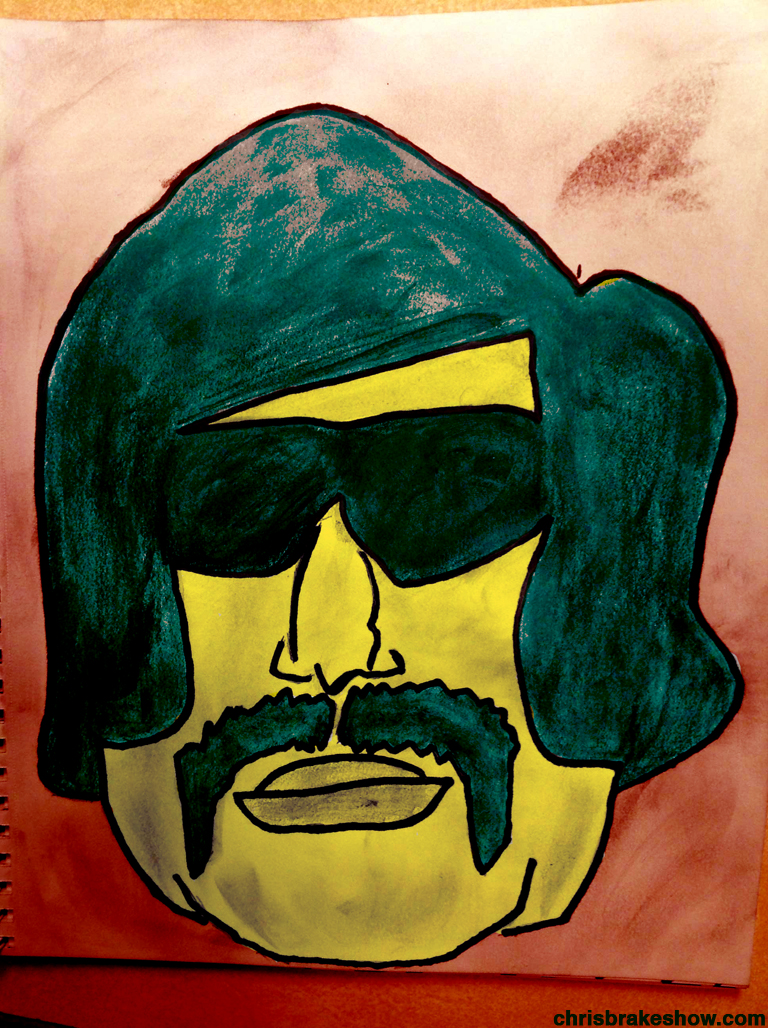 Tony Clifton #14 | Chris Brake Daily Doodle