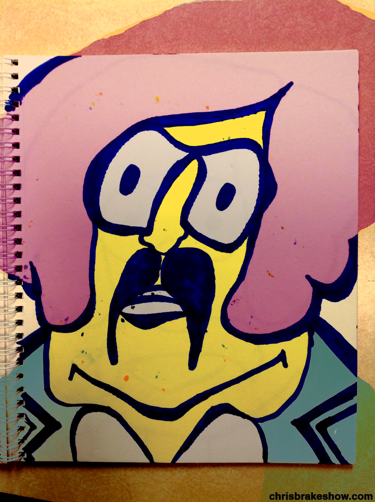 Tony Clifton #17 | Chris Brake Daily Doodle