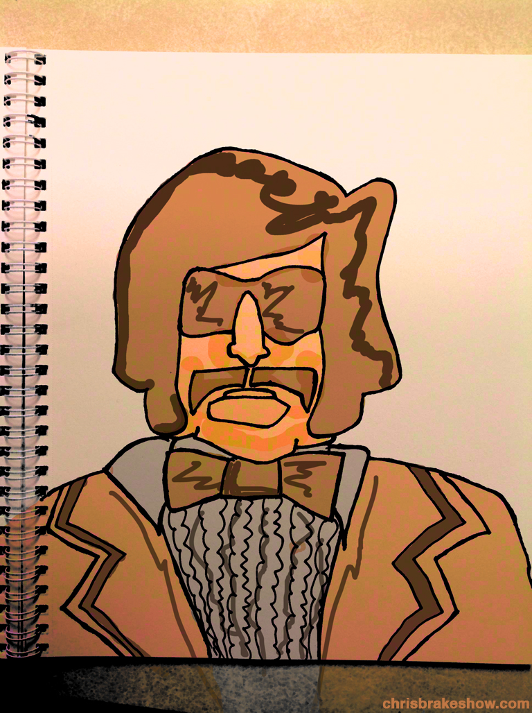 Tony Clifton #21 | Chris Brake Daily Doodle