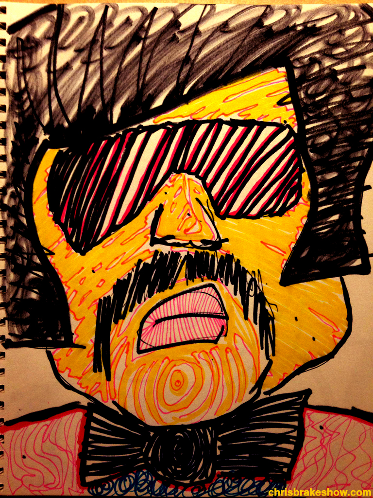 Tony Clifton 2 | Chris Brake Daily Doodle