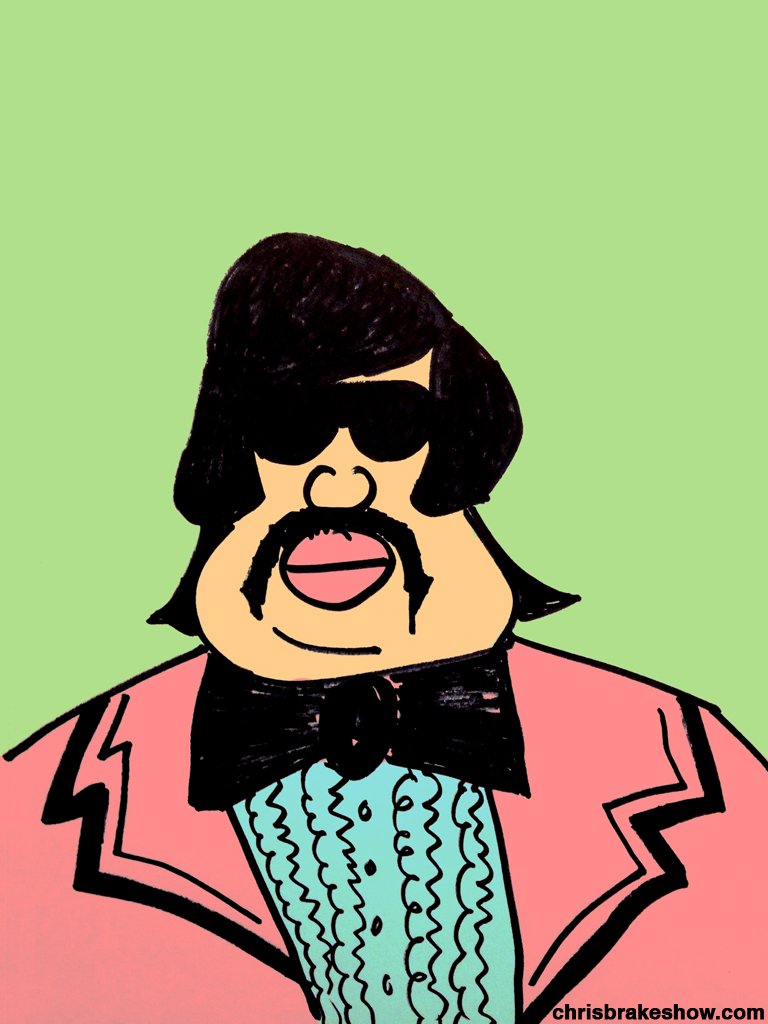 Tony Clifton #3 | Chris Brake Daily Doodle