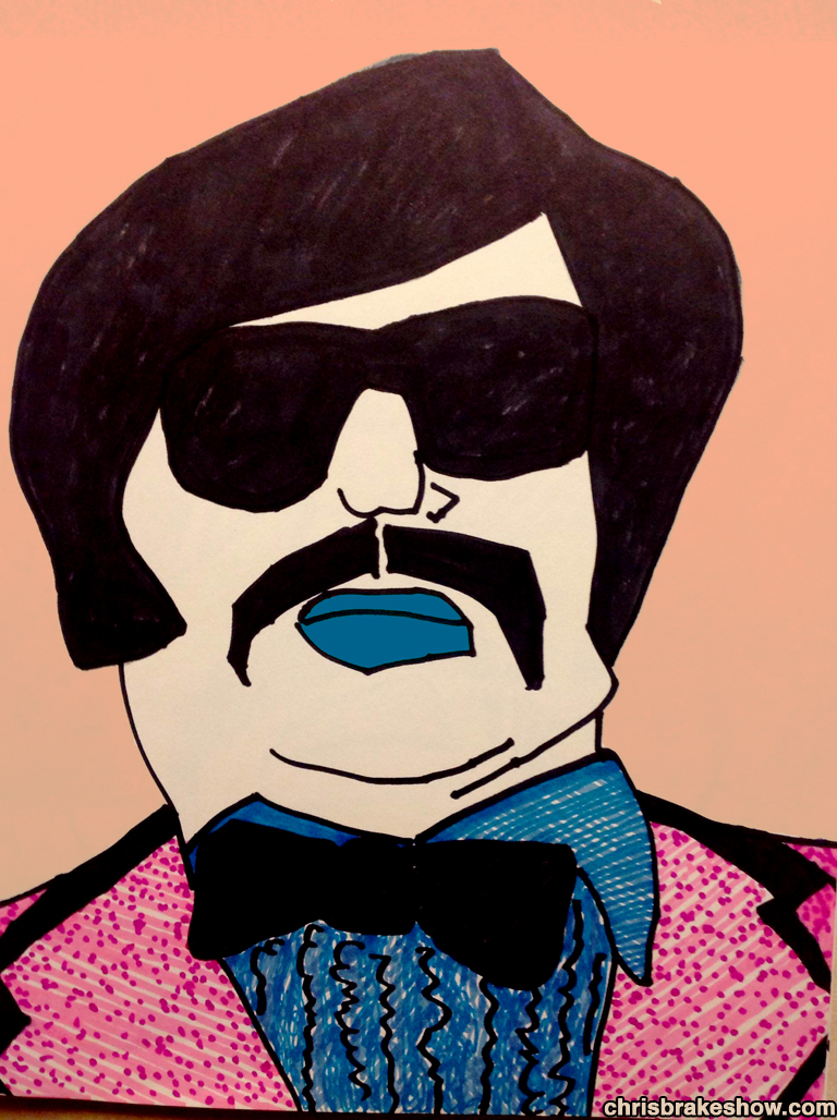 Tony Clifton #6 | Chris Brake Daily Doodle
