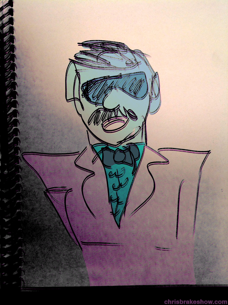 Tony Clifton | Chris Brake Daily Doodle