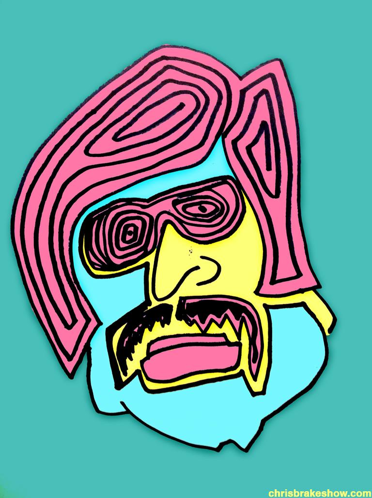 Tony Clifton #9 | Chris Brake Daily Doodle