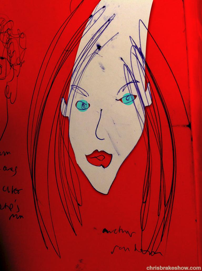 Her Random   Chris Brake Daily Doodle
