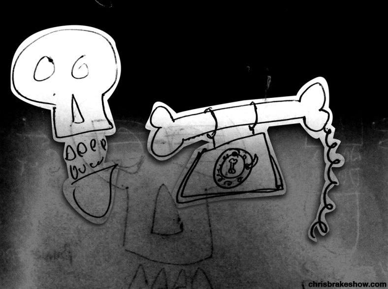 The Bone Phone | Chris Brake Daily Doodle