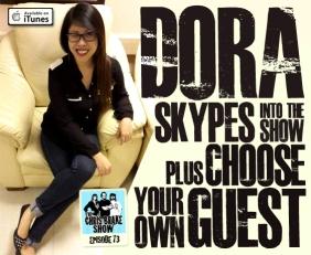 Dora Go-Hosts + Doug Stuber, Choose Your Own Guest, 40 Oz Pimp