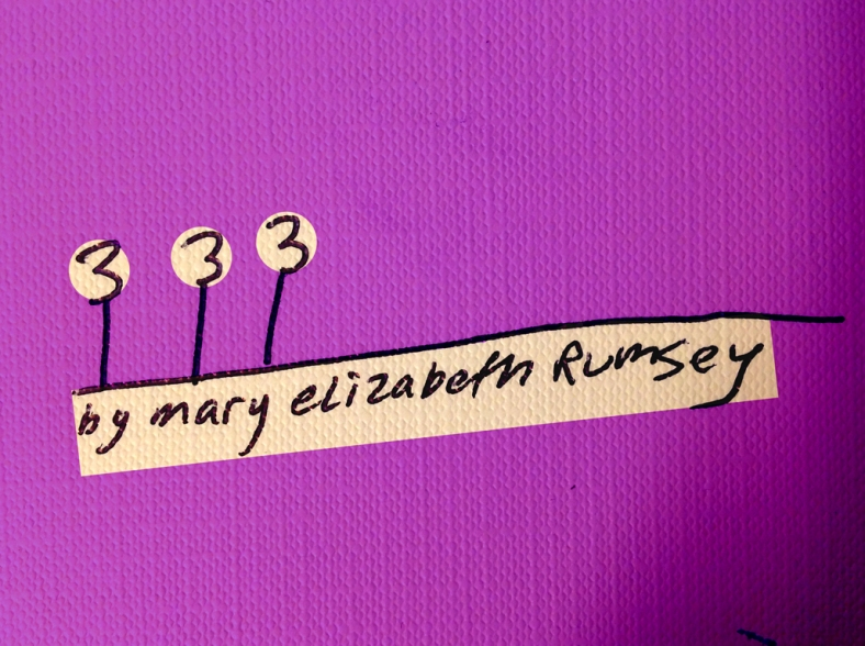 3 For Sure- | 3 by Mary Elizabeth Rumsey