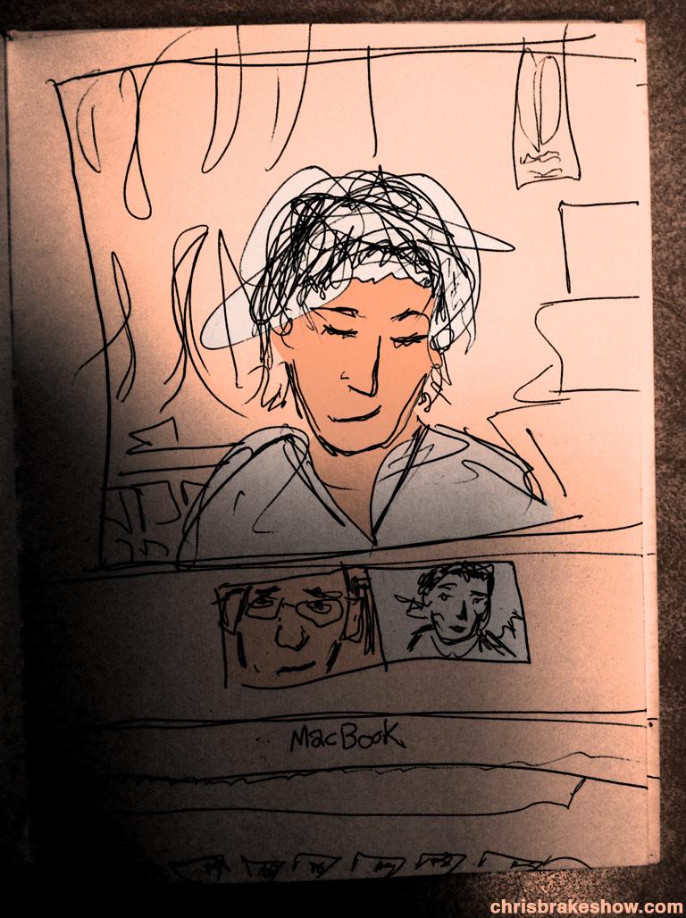 Face Time | Chris Brake Daily Doodle