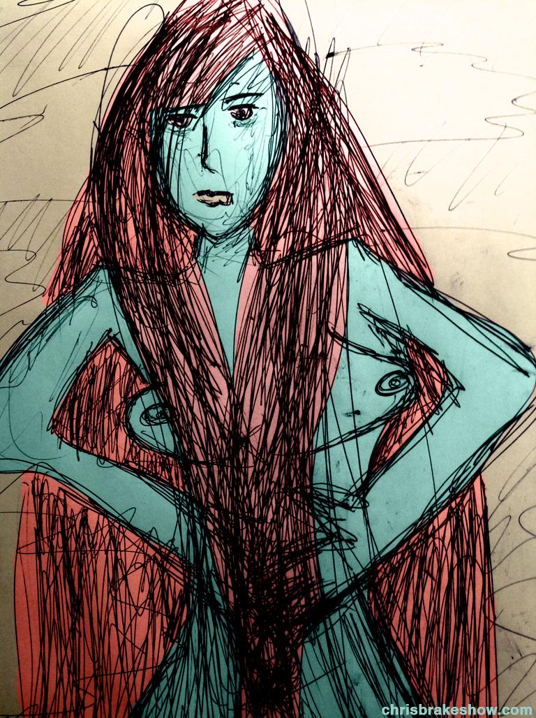Woman 3 | Chris Brake Daily Doodle