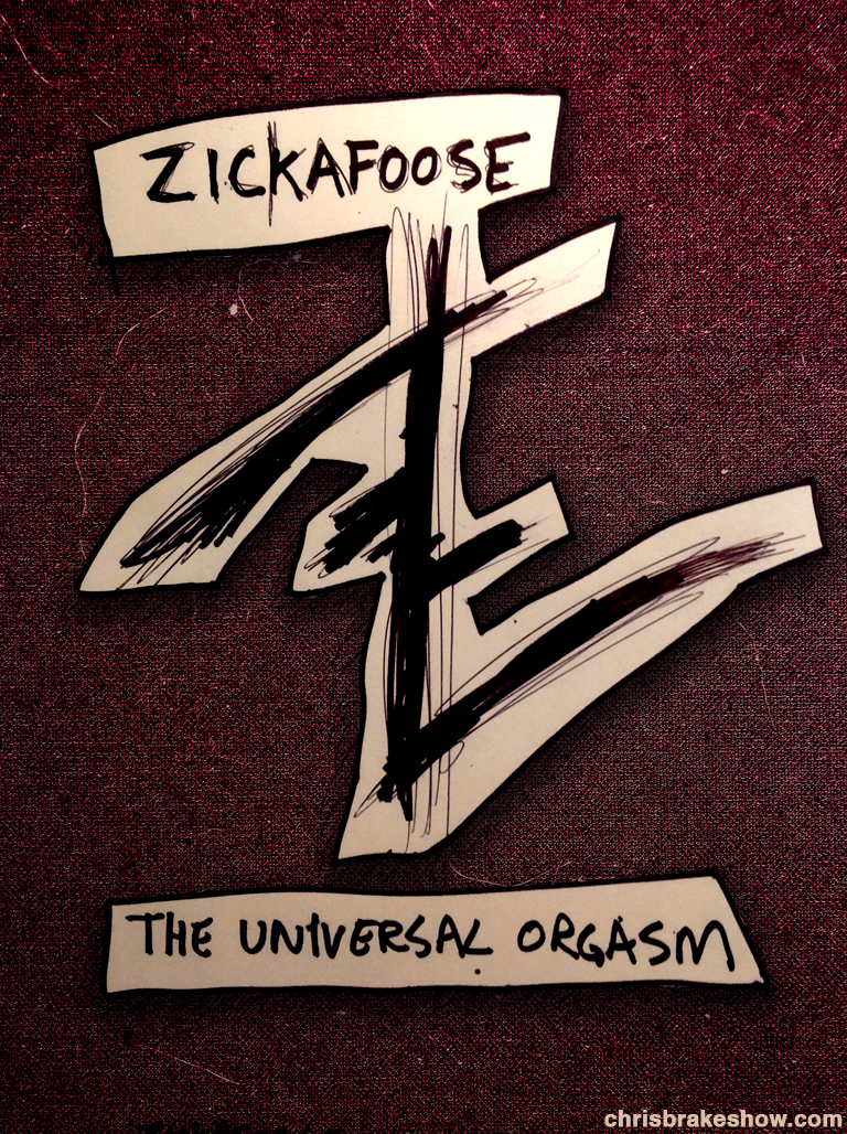 Zickafoose: The Universal Orgasm | Chris Brake Daily Doodle