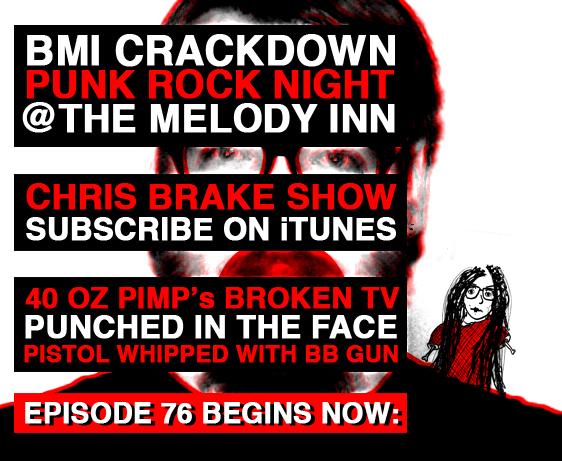 BMI Crackdown at Punk Rock Night | CB076