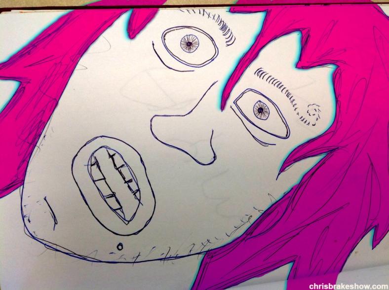 Pong  Fonge 317 | Chris Brake Daily Doodle