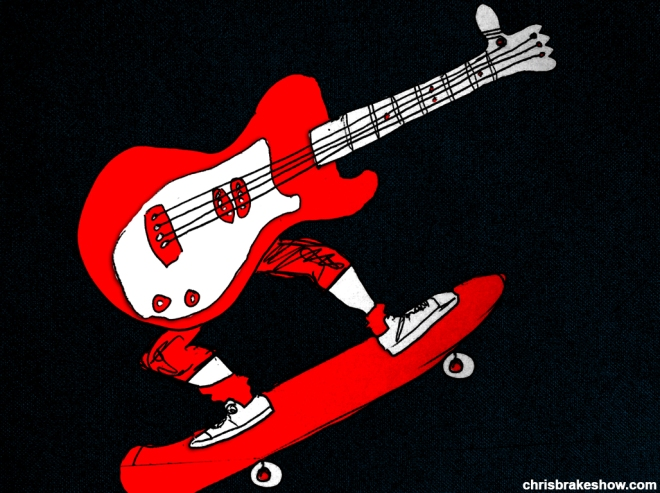 Rock N Roll Yeah Dude | Chris Brake Daily Doodle