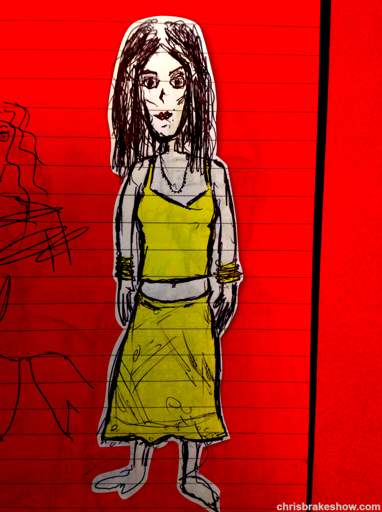 The Mom Doodle | Chris Brake Daily Doodle