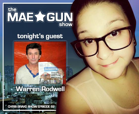 Mae*Gun the Mistress of the Microphone Meets Warren Rodwell | CB082