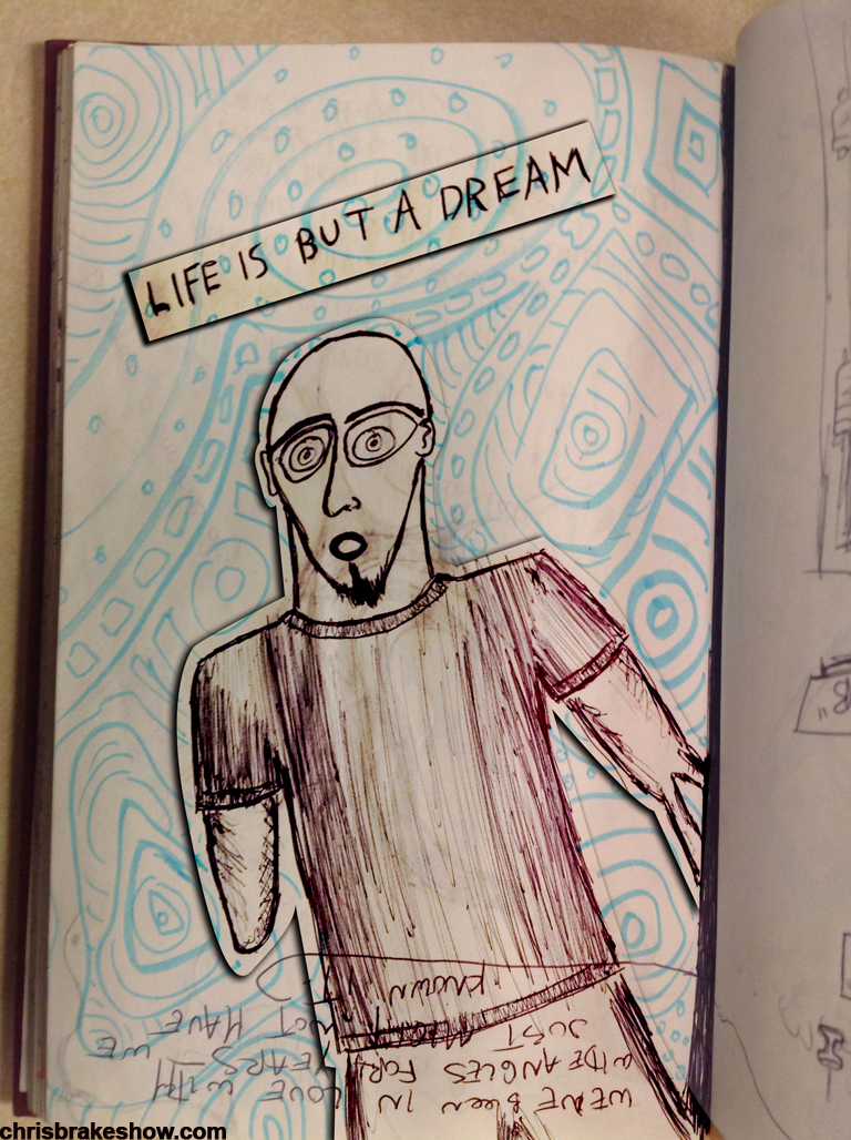 Dream Live | Chris Brake Daily Doodle