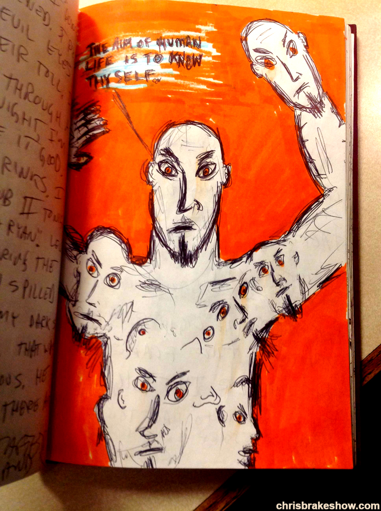 Know Thyself | Chris Brake Daily Doodle