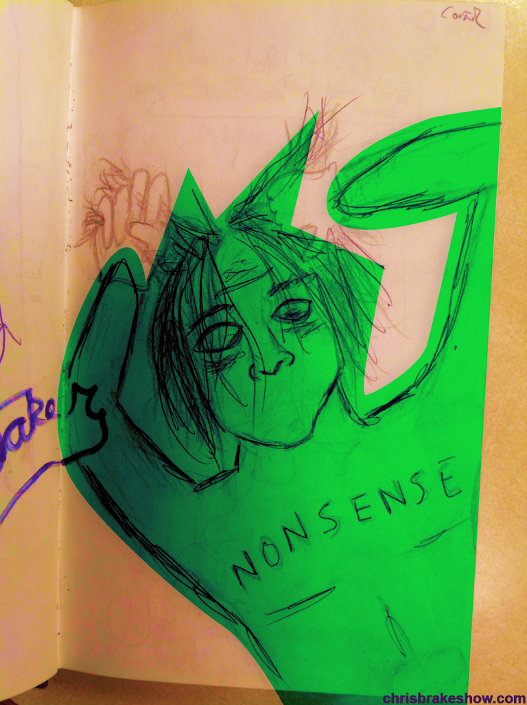 Nonsense | Chris Brake Daily Doodle
