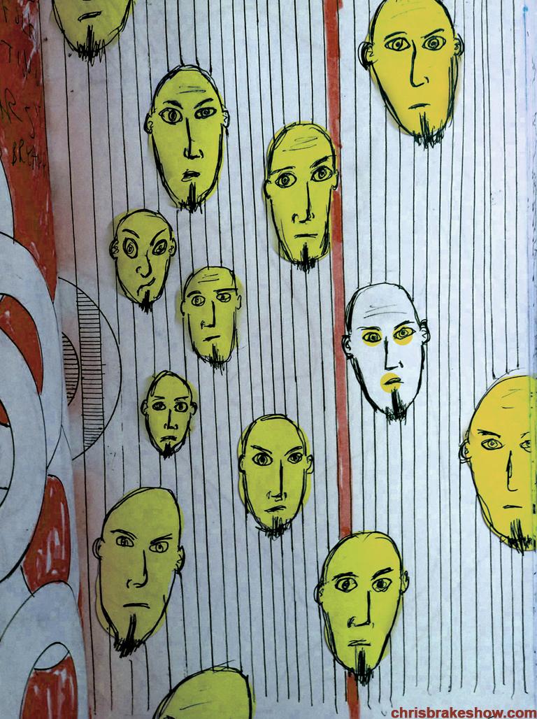 Smellie Face | Chris Brake Daily Doodle