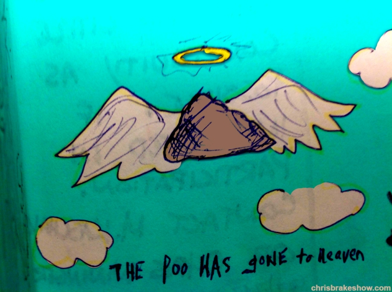 The Poo | Chris Brake Daily Doodle