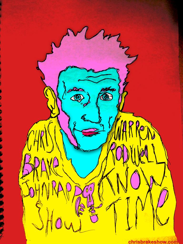 Warren Rodwell #2 | Chris Brake Daily Doodle