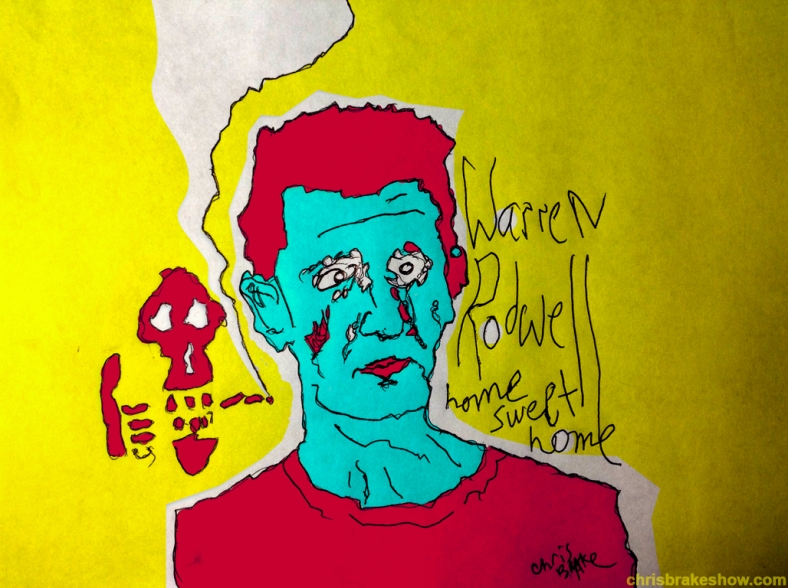 Warren Rodwell #3 | Chris Brake Daily Doodle