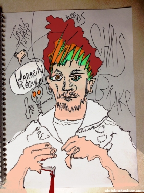 Warren Rodwell #4 | Chris Brake Daily Doodle