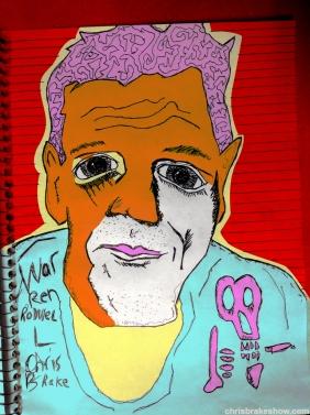 Warren Rodwell #5 | Chris BrakeDaily Doodle