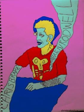 Warren Rodwell #6 | Chris Brake Daily Doodle