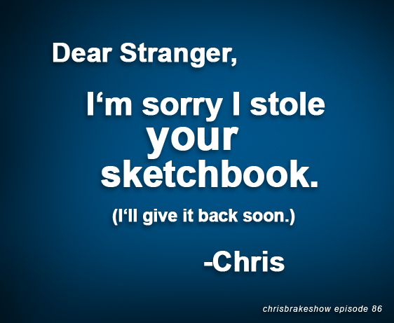 Stolen Sketchbooks on Strange Label and Mae*Gun on Movie Buzzed | CB086