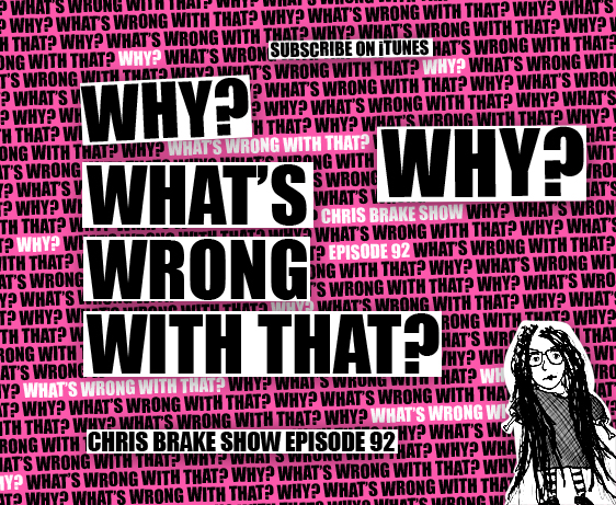 Why? What's Wrong With That? | CB092 | Strange Label