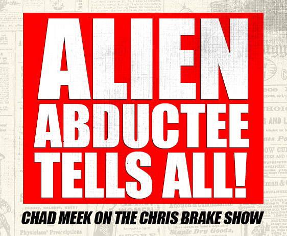 Alien Abductee Chad Meek; Author of Giant Rock and Nephew of George Van Tassel | CB096