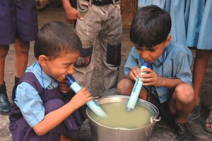 Drink Dirty Water with Lifestraw