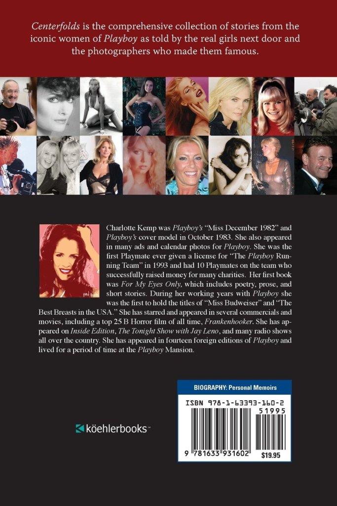 Centerfolds by Playboy Playmate Charlotte Kemp