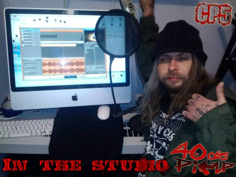 40 Oz Pimp in the Studio | Chris Brake Show CB109